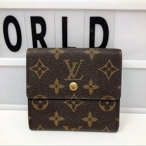 Louis Vuitton Elise Monogram trifold Small wallet